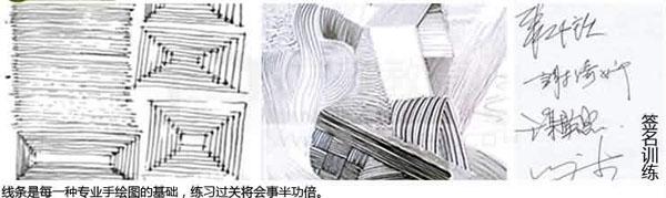 手绘效果图课程大纲    平行透视:平行透视的原理,结构的立体画法