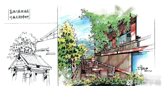 广州景观设计手绘培训